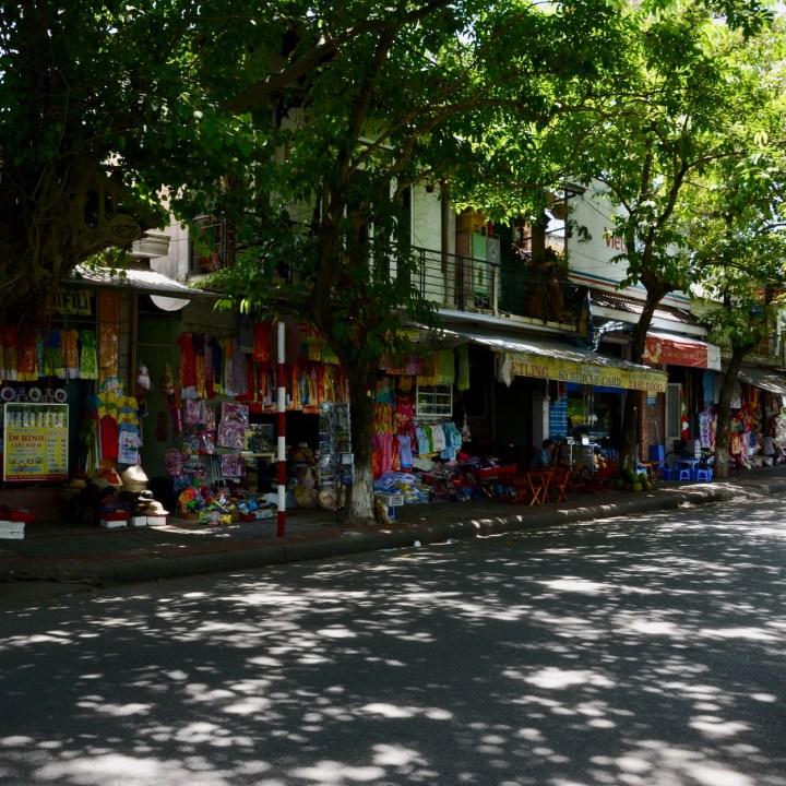 vietnam with kids hue souvenir shops