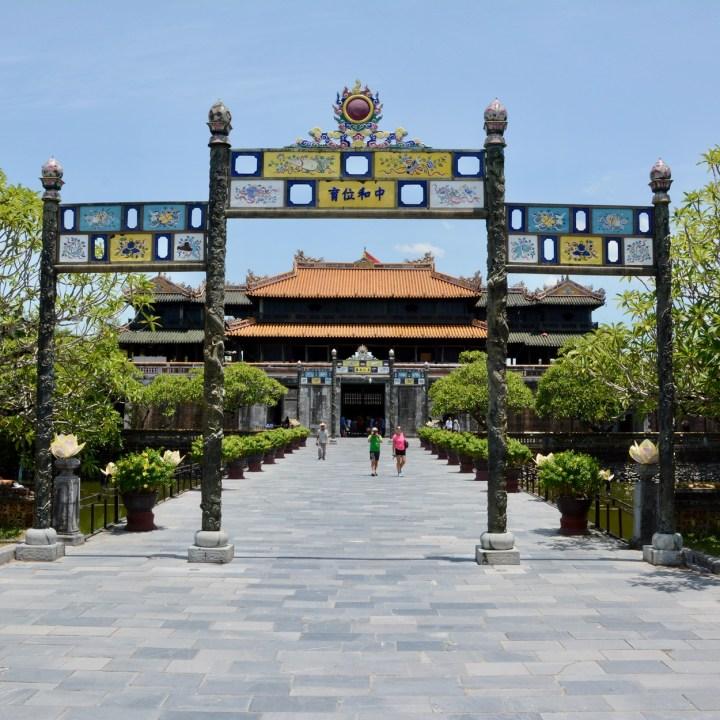 vietnam travel with kids hue citadel citadel entrance