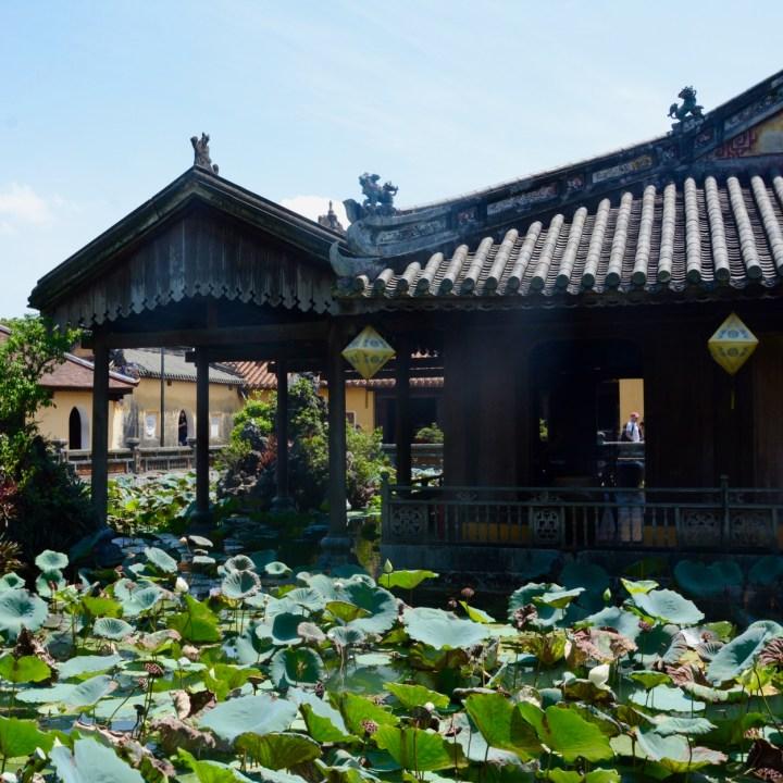 vietnam travel with kids hue citadel cafe