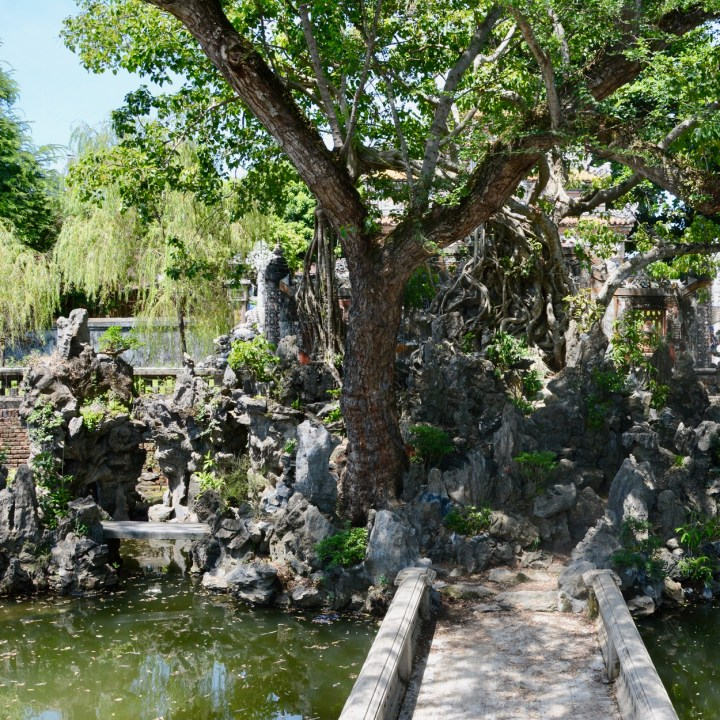 vietnam travel with kids hue citadel co ha gardens