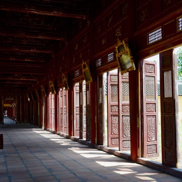 vietnam travel with kids hue citadel halls of mandarins