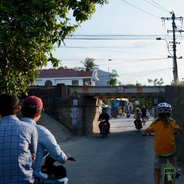 vietnam travel with kids hue train bridge