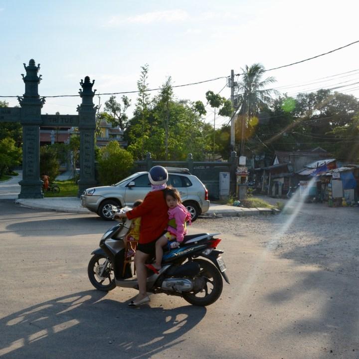 vietnam travel with kids hue roller girl