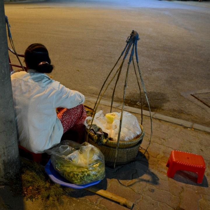 vietnam with kids hue evenings street vendor