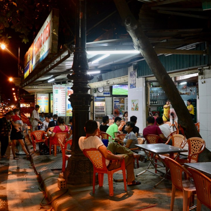 vietnam with kids hue evenings local restaurant