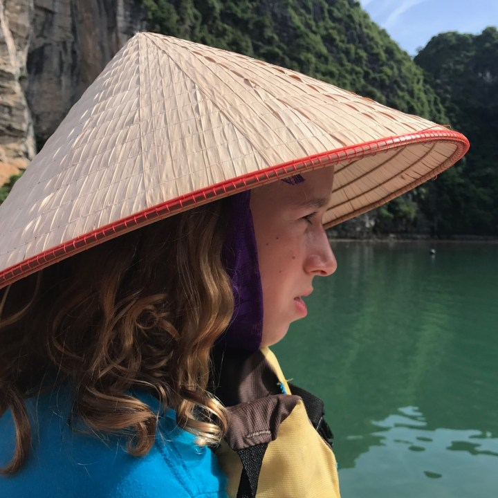 vietnam with kids ha long bay boat tour