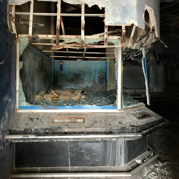 vietnam with kids hue abandoned waterpark broken aquarium