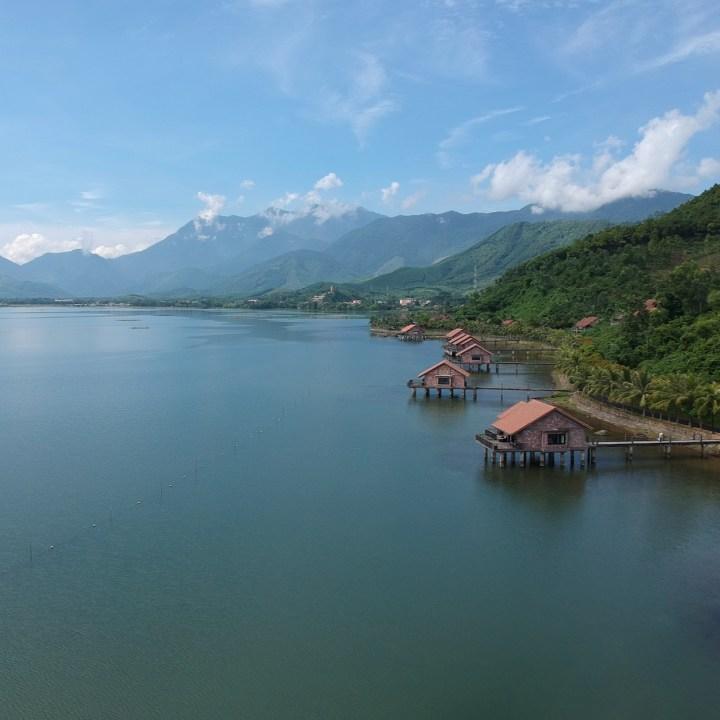 vietnam with kids vedana lagoon resort aqua bungalow