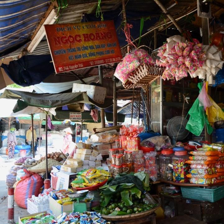 vietnam with kids hue market sweeties