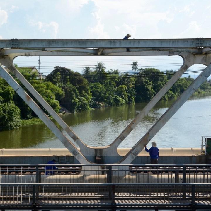 vietnam with kids hue railway bridge
