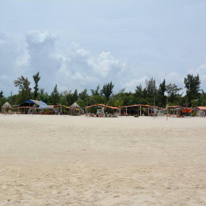 vietnam with kids chan may beach huts