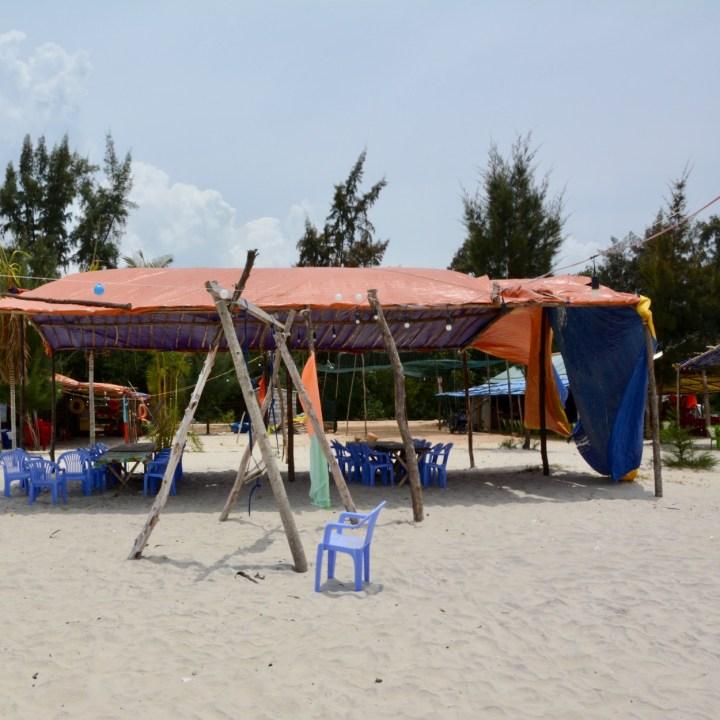 vietnam with kids chan may beach bar