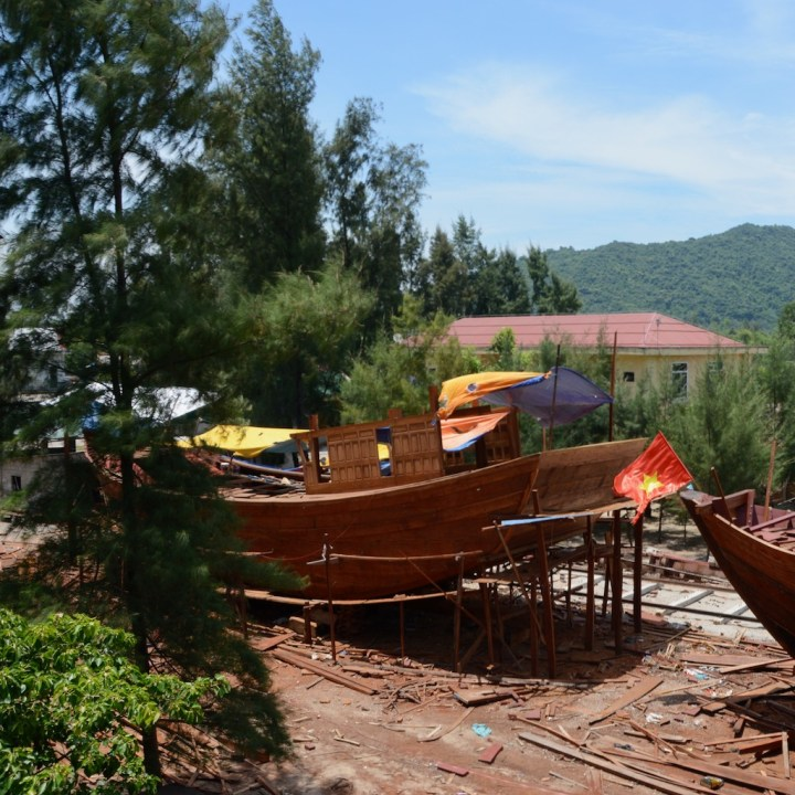 vietnam with kids cai lau lagoon ship yard