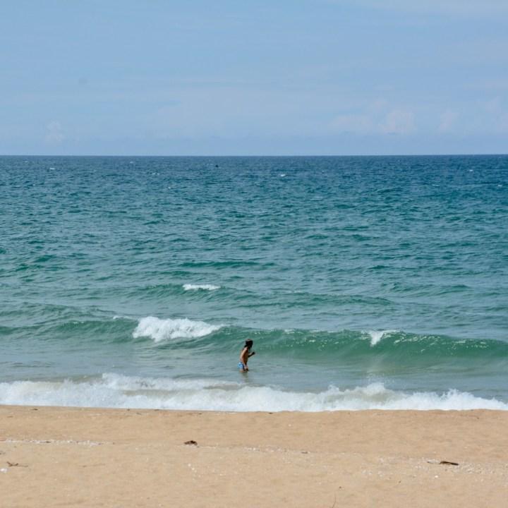 vietnam with kids cai lau lagoon waves