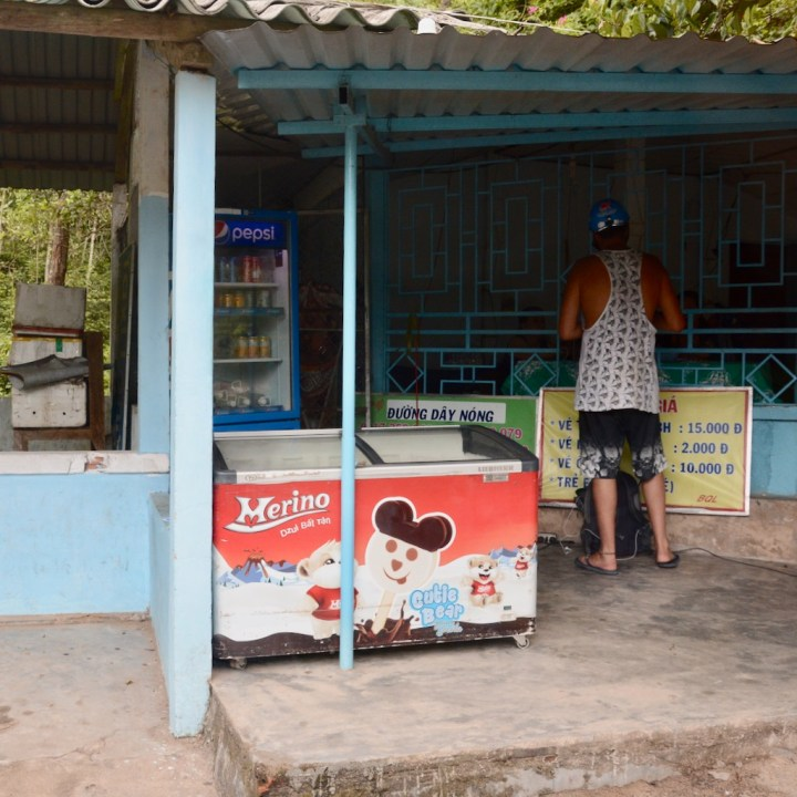vietnam travel with kids elephant springs ticket office