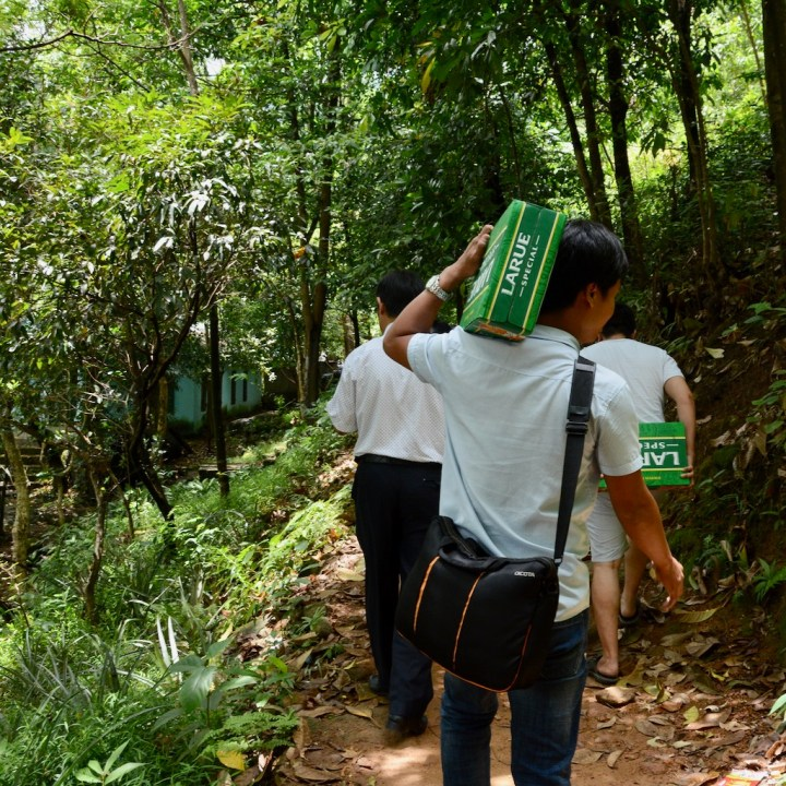 vietnam travel with kids elephant springs beer