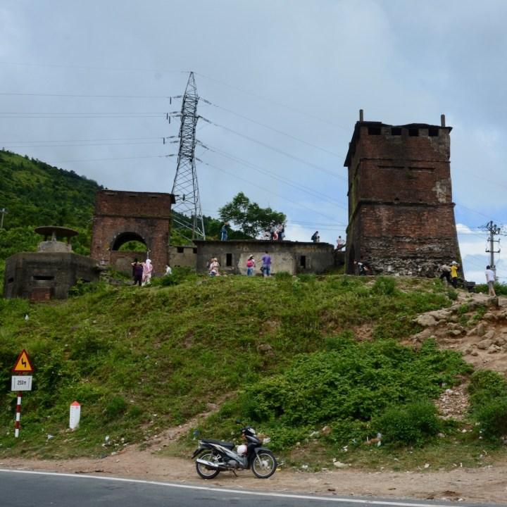 vietnam travel with kids hai van pass ruins