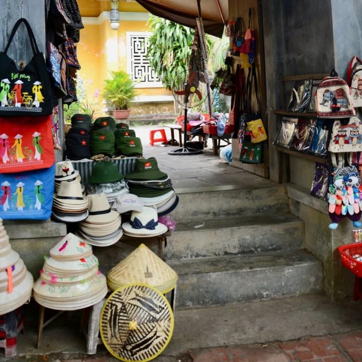vietnam with kids hoi an souvenir shop