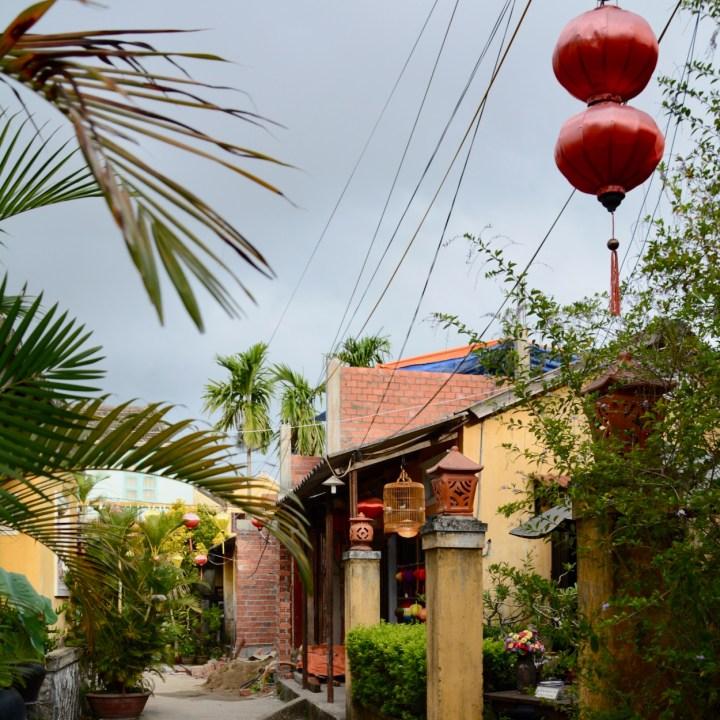 vietnam with kids hoi an street view