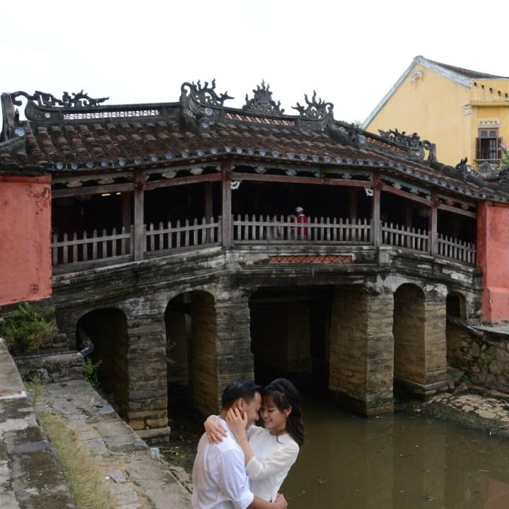 vietnam with kids hoi an wedding couple