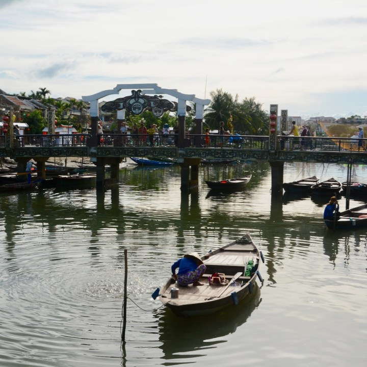 hoi an with kids bridge of lights