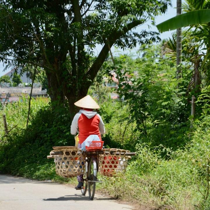 vietnam travel with kids hoi an rural bike ride