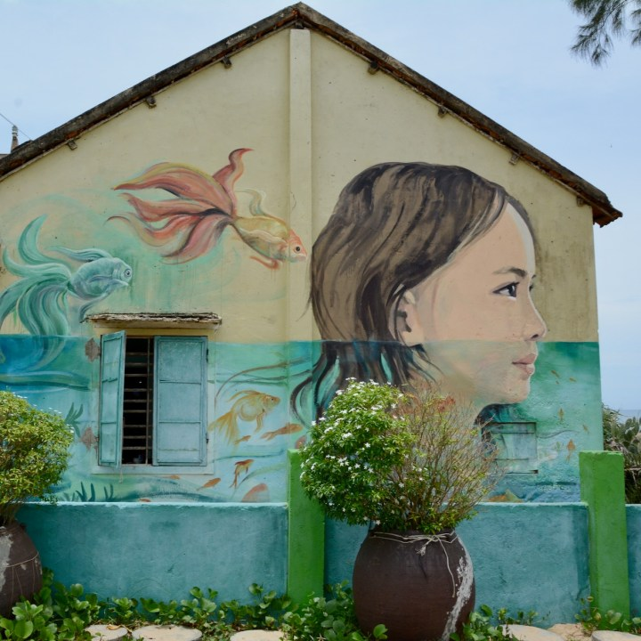 Hoi An, Vietnam | Exploring Street Art at Tam Thanh Mural Village