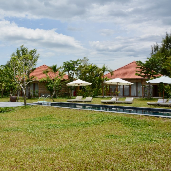 travel with kids vietnam hoi an allamanda estate pool