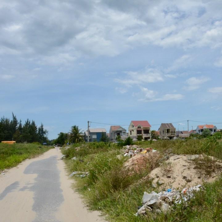 vietnam with kids an bang bike tour beach houses