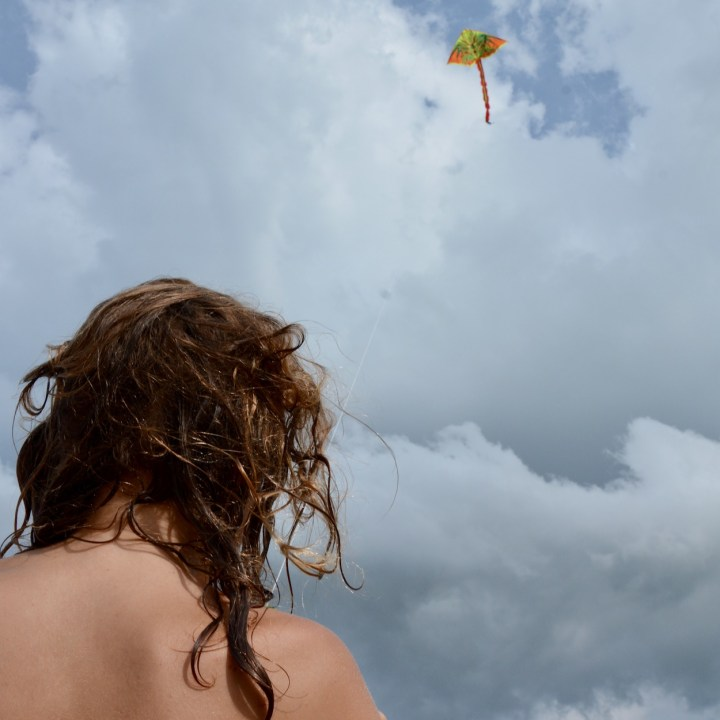 vietnam with kids an bang bike beach kite