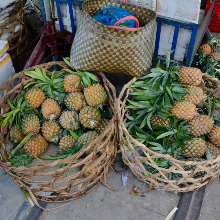 vietnam with kids hoi an cooking class pineapples