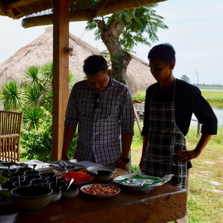 vietnam with kids hoi an cooking class chefs