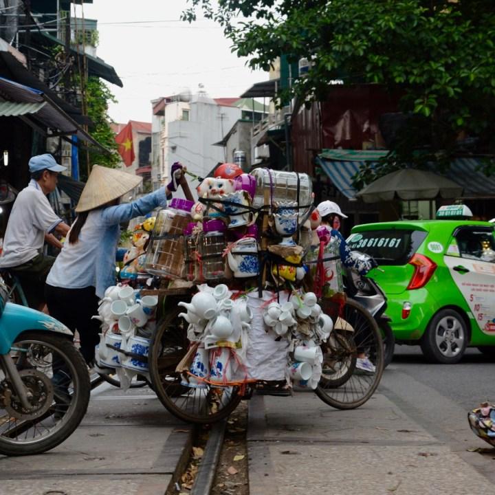 hanoi with kids china on a bike