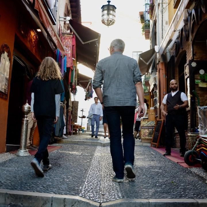 Granada spain with kids wanders albacayin