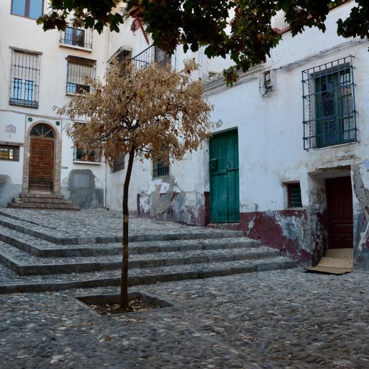 Granada spain with kids square