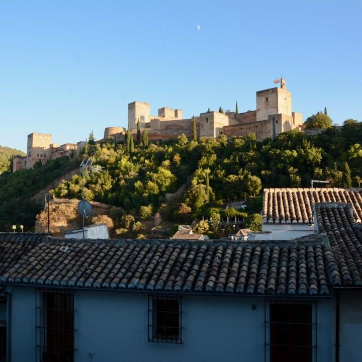 Granada spain with kids alhambra