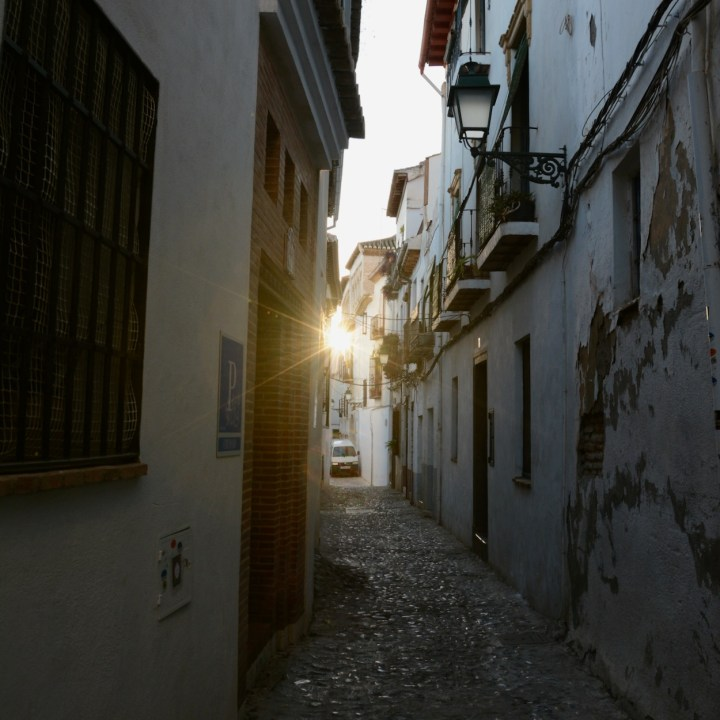 Granada spain with kids sunlight