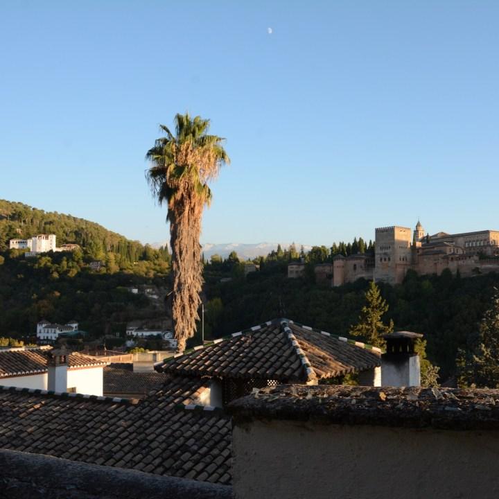 Granada spain with kids generalife