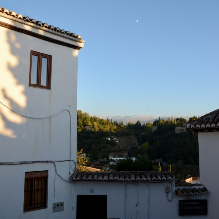 Granada spain with kids moon