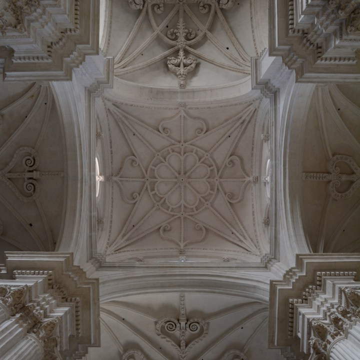 granada with kids cathedral ceiling