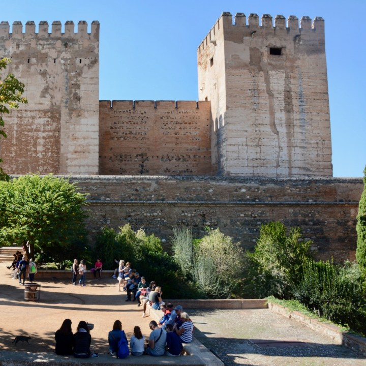 alhambra with kids nasrid palace alcazar views