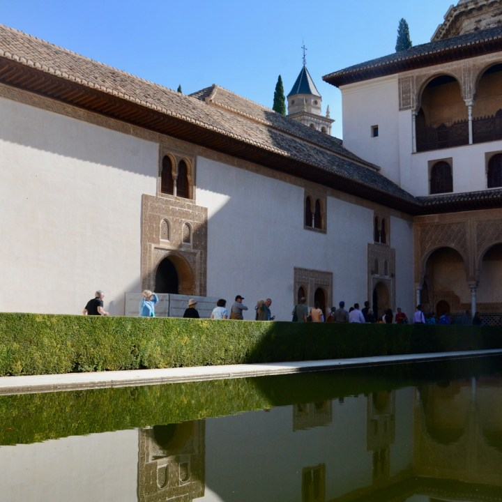 alhambra with kids nasrid palace water reservoir