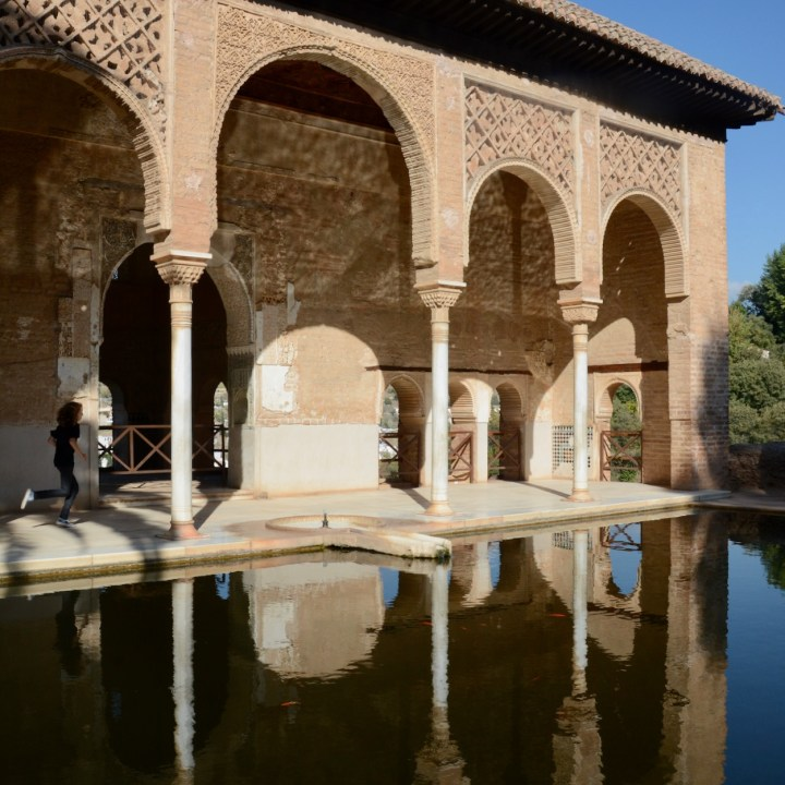 alhambra with kids nasrid palace serail