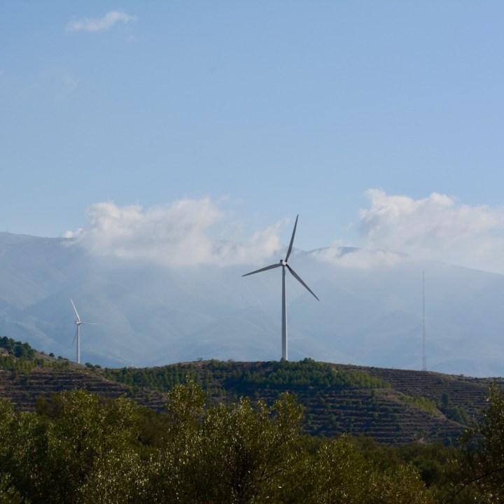 las alpujarras with kids wind mills