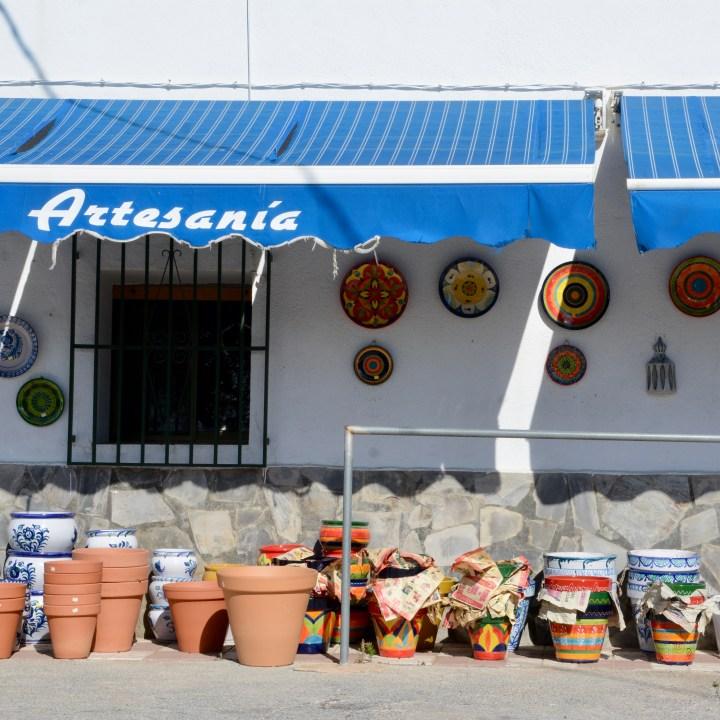 las alpujarras with kids pottery