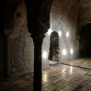 granada with kids hammam light spots