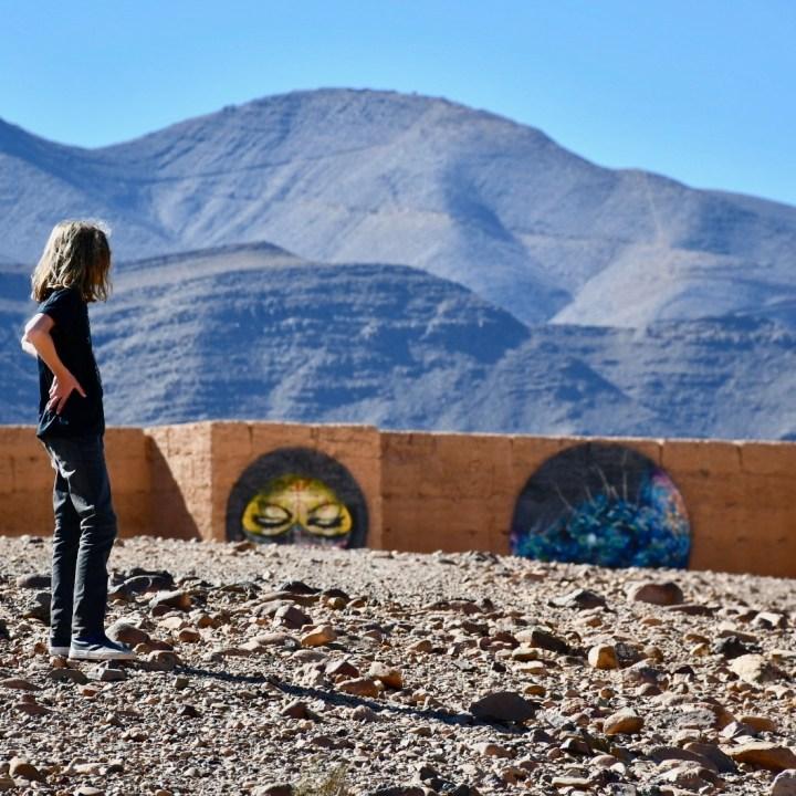 Morocco with kids draa valley tamnougalt art kasbah