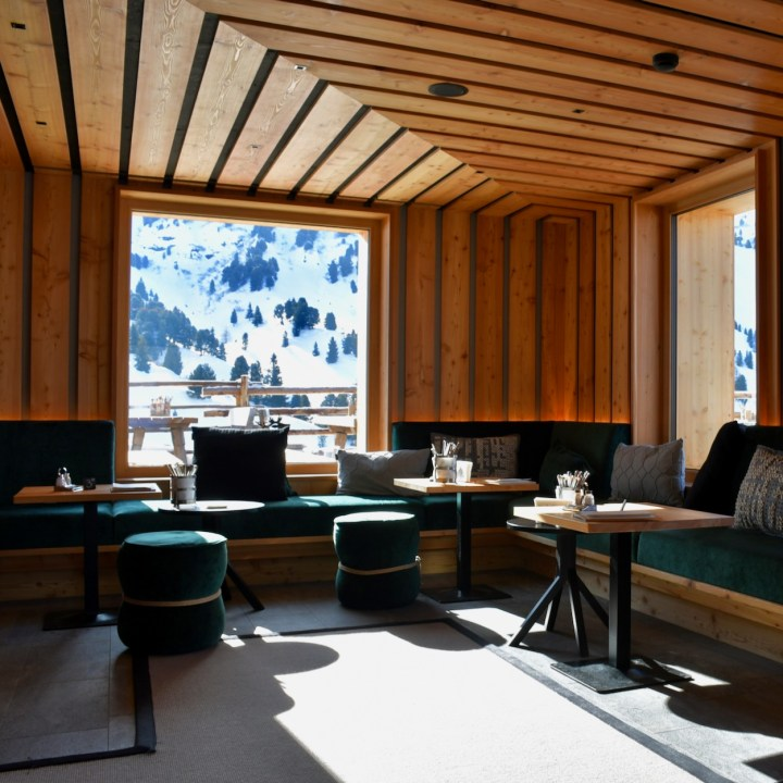 seiser alm skiing with kids zallinger bar