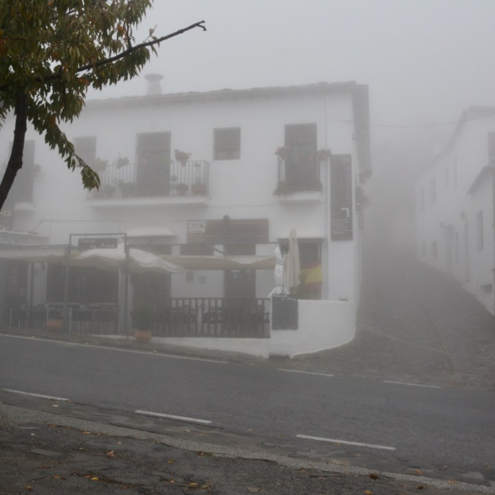 bubion with kids fog streetview