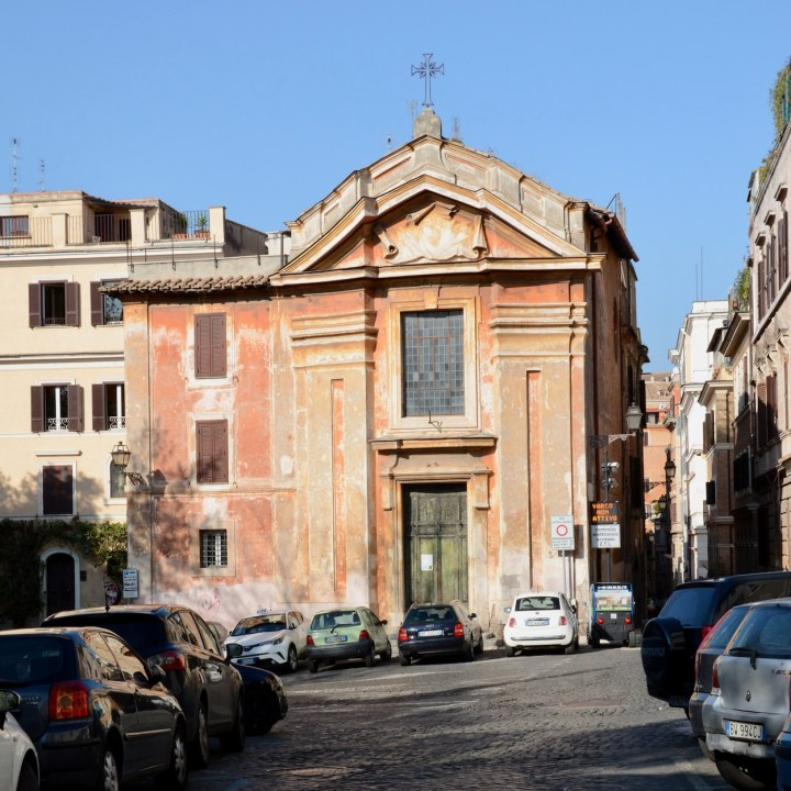 rome with kids streets church